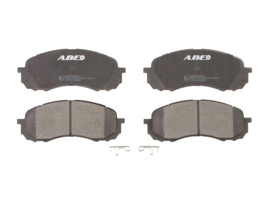 Plaquettes de frein avant ABE C17015ABE (X1)