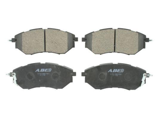 Plaquettes de frein avant ABE C17017ABE (X1)