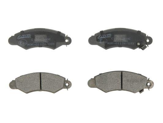 Plaquettes de frein avant ABE C18012ABE (X1)