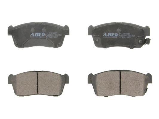 Plaquettes de frein avant ABE C18016ABE (X1)