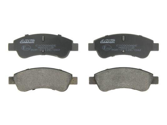 Plaquettes de frein avant ABE C1C000ABE (X1)