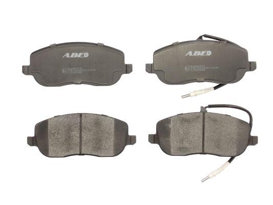 Plaquettes de frein avant ABE C1C043ABE (X1)