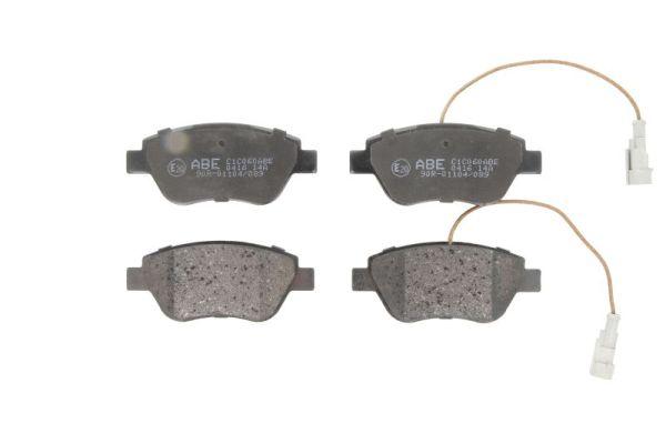 Plaquettes de frein avant ABE C1C060ABE (X1)
