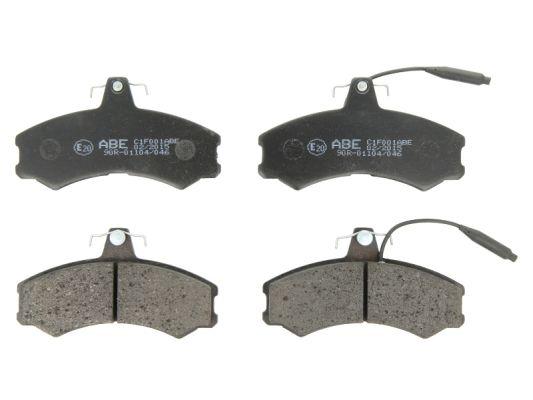 Plaquettes de frein avant ABE C1F001ABE (X1)