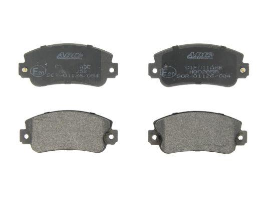 Plaquettes de frein avant ABE C1F011ABE (X1)