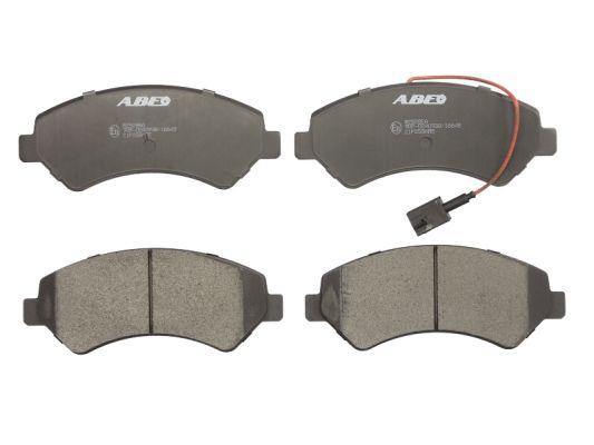Plaquettes de frein avant ABE C1F058ABE (X1)