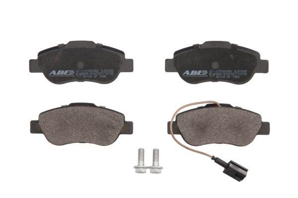 Kit de plaquettes de frein, frein à disque ABE C1F063ABE (X1)