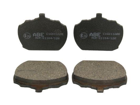 Plaquettes de frein avant ABE C1G011ABE (X1)