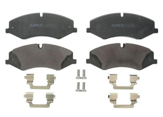 Plaquettes de frein avant ABE C1I014ABE (X1)