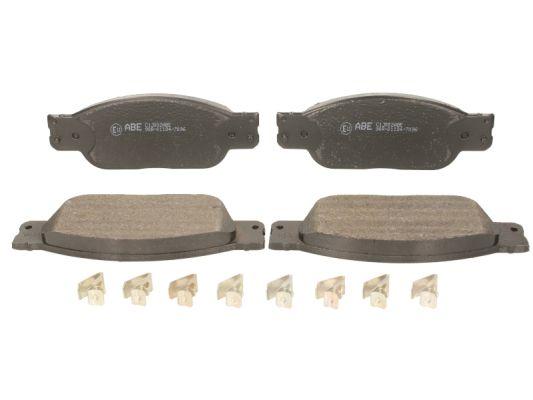 Plaquettes de frein avant ABE C1J002ABE (X1)