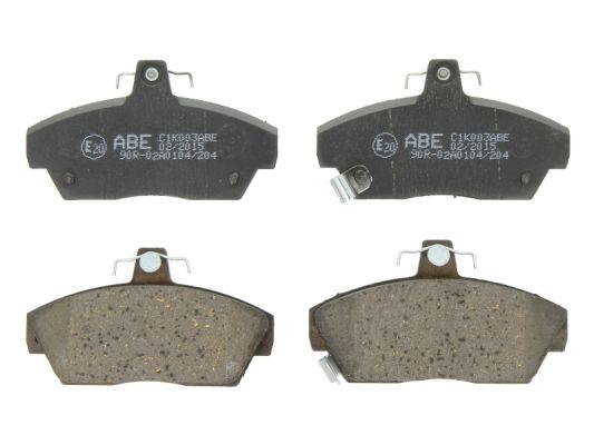 Plaquettes de frein avant ABE C1K003ABE (X1)
