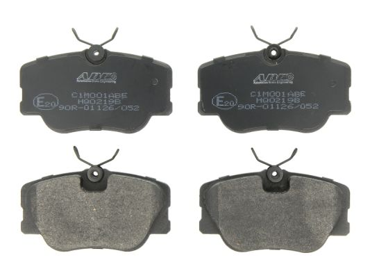 Plaquettes de frein avant ABE C1M001ABE (X1)