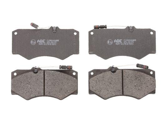 Plaquettes de frein avant ABE C1M006ABE (X1)