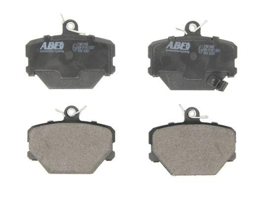 Plaquettes de frein avant ABE C1M019ABE (X1)
