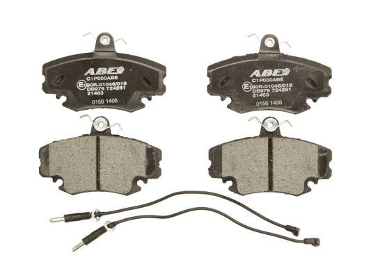 Plaquettes de frein avant ABE C1P000ABE (X1)