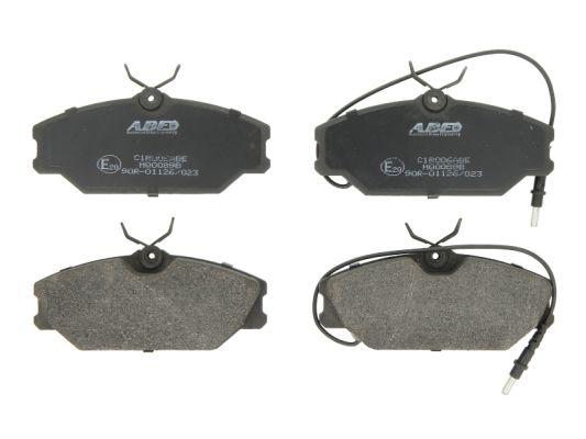 Plaquettes de frein avant ABE C1R006ABE (X1)