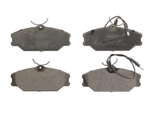 Plaquettes de frein avant ABE C1R007ABE (X1)