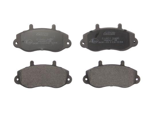 Plaquettes de frein avant ABE C1R013ABE (X1)