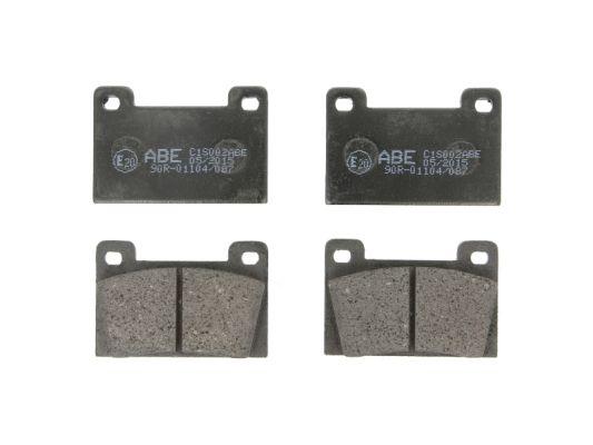 Plaquettes de frein avant ABE C1S002ABE (X1)