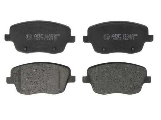 Plaquettes de frein avant ABE C1T007ABE (X1)