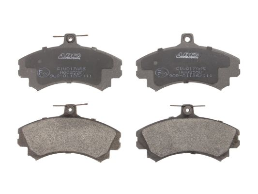 Plaquettes de frein avant ABE C1V017ABE (X1)