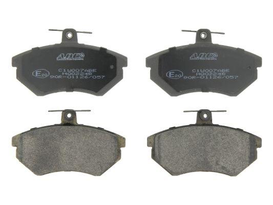 Plaquettes de frein avant ABE C1W007ABE (X1)