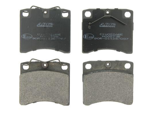 Plaquettes de frein avant ABE C1W022ABE (X1)