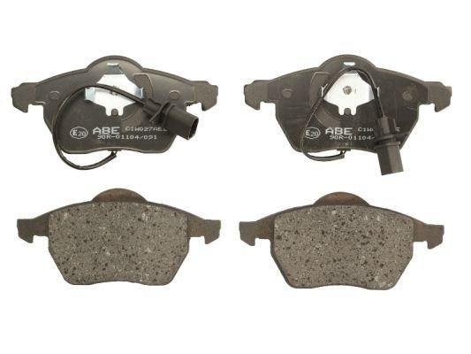 Plaquettes de frein avant ABE C1W027ABE (X1)