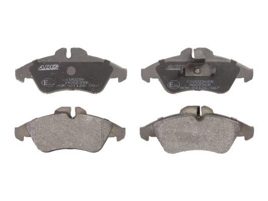 Plaquettes de frein avant ABE C1W029ABE (X1)