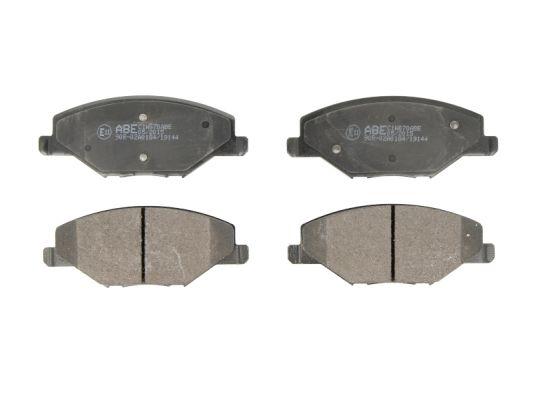 Plaquettes de frein avant ABE C1W070ABE (X1)