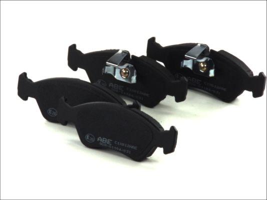 Plaquettes de frein avant ABE C1X012ABE (X1)