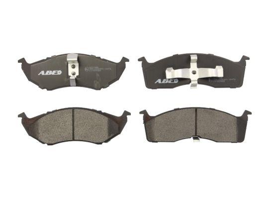 Plaquettes de frein avant ABE C1Y004ABE (X1)
