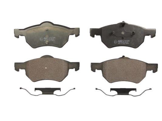 Plaquettes de frein avant ABE C1Y007ABE (X1)