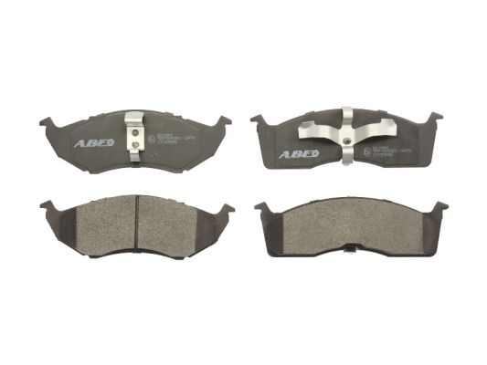 Plaquettes de frein avant ABE C1Y008ABE (X1)