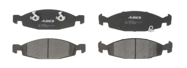 Plaquettes de frein avant ABE C1Y014ABE (X1)