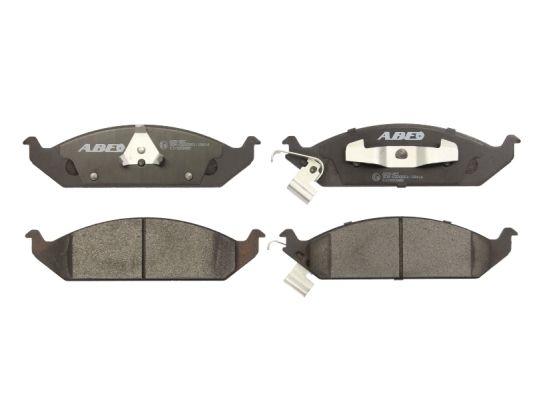Plaquettes de frein avant ABE C1Y020ABE (X1)