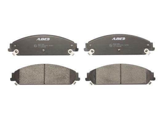 Plaquettes de frein avant ABE C1Y035ABE (X1)