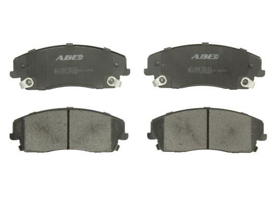 Plaquettes de frein avant ABE C1Y037ABE (X1)