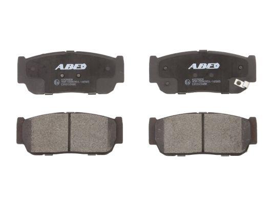 Plaquettes de frein arriere ABE C20010ABE (X1)