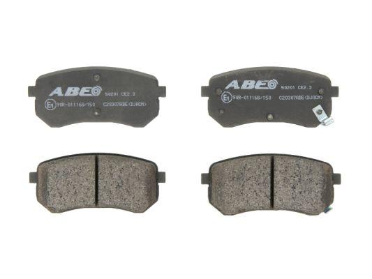 Plaquettes de frein arriere ABE C20307ABE (X1)