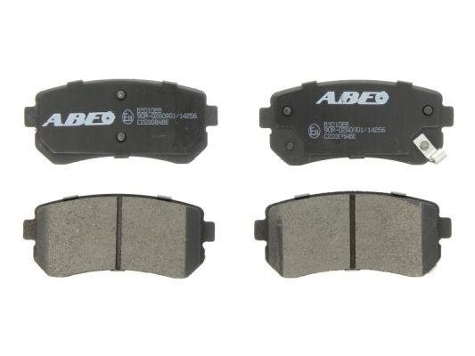 Plaquettes de frein arriere ABE C20308ABE (X1)