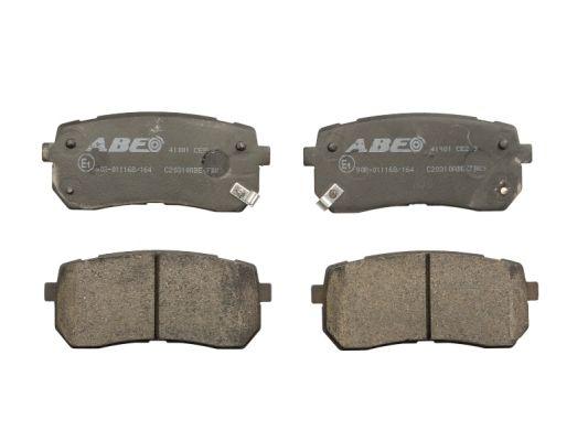 Plaquettes de frein arriere ABE C20310ABE (X1)
