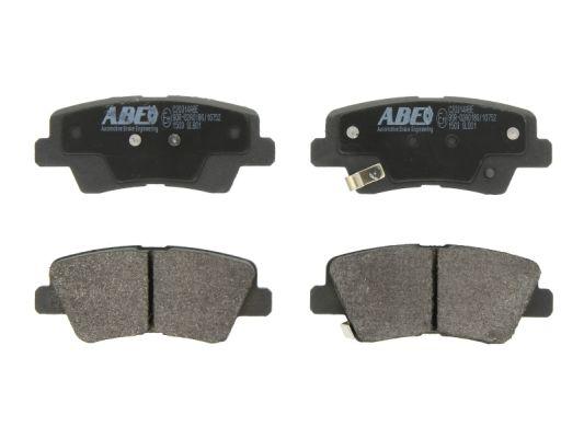 Plaquettes de frein arriere ABE C20314ABE (X1)