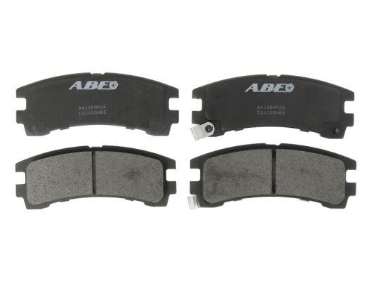 Plaquettes de frein arriere ABE C21028ABE (X1)