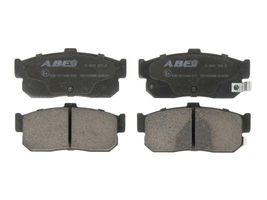 Plaquettes de frein arriere ABE C21030ABE (X1)