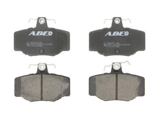 Kit de plaquettes de frein, frein à disque ABE C21031ABE (X1)