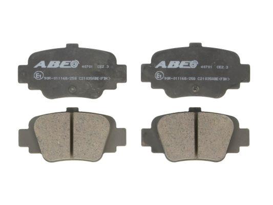 Plaquettes de frein arriere ABE C21035ABE (X1)