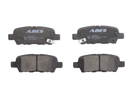 Plaquettes de frein arriere ABE C21042ABE (X1)