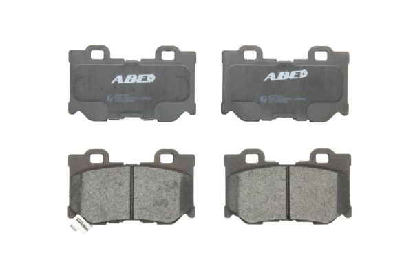 Plaquettes de frein arriere ABE C21049ABE (X1)