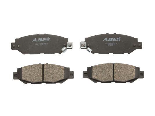 Plaquettes de frein arriere ABE C22016ABE (X1)